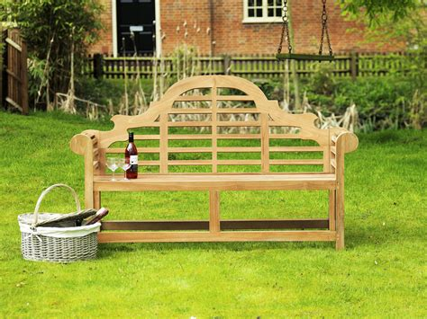 amazon garden benches lutyens teak bench 150cm sissinghurst teak garden bench 150cm