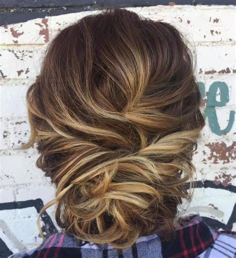50 hottest prom hairstyles for short hair 50 hottest prom hairstyles for short hair loose buns
