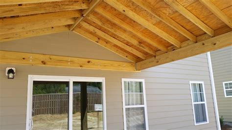 covered patio construction wilmington nc