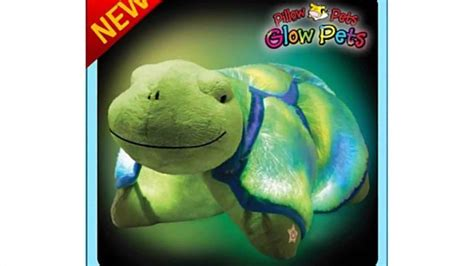 Glowing Pillow Pet by Pillow Pets Glow Pets Turtle 12