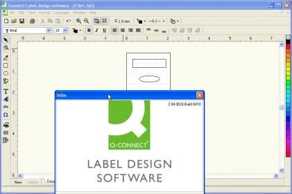 design label software free connect label design software 2 0 download free