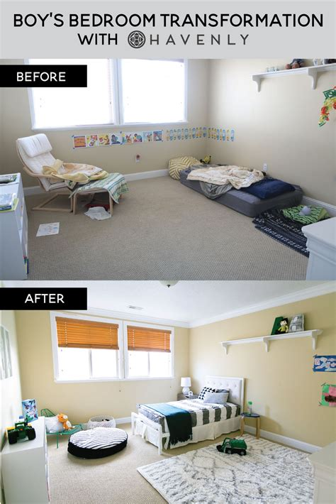 Havenly boy s bedroom transformation with havenly sandyalamode