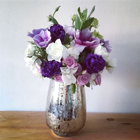 purple flower arrangements centerpieces best 25 purple flower arrangements ideas on