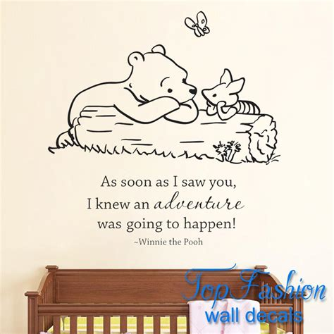 classic winnie the pooh wall stickers popular classic winnie the pooh wall stickers buy cheap