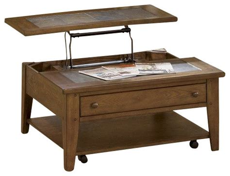 Square Lift Top Coffee Table Liberty Furniture Hearthstone 38 Inch Square Lift Top