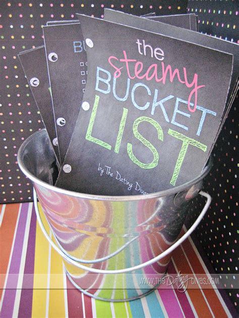bedroom bucket list the steamy bucket list