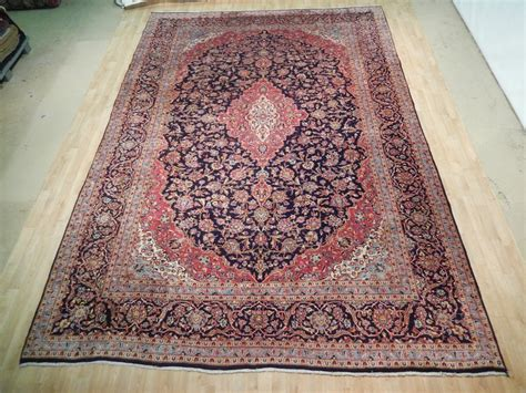 rugs sale kashan rug rugs for sale handmade 10 x 15 kashan carpet ebay