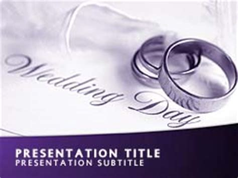 Royalty Free Wedding Powerpoint Template In Purple Microsoft Powerpoint Templates Wedding