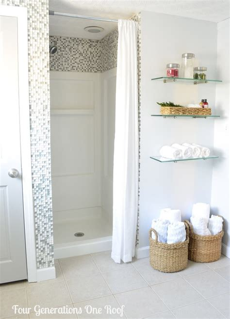 diy bathroom shower ideas try this diy bathroom renovations four generations one roof