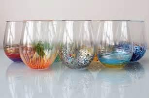 Painting Glass Vases With Acrylic Paint C 243 Mo Decorar Vasos De Vidrio Con Plumones De Aceite