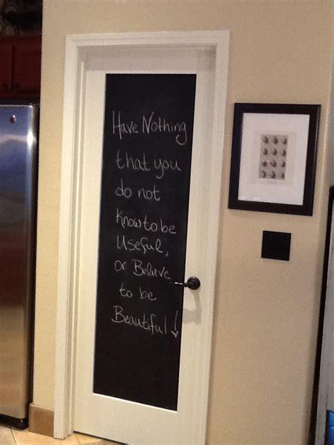 Chalkboard Pantry Doors by Chalk Board Pantry Door Home Sweet Home