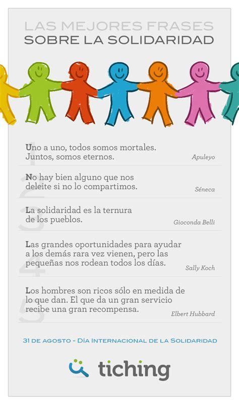 mensajes de solidaridad compartir algunas de las mejores frases sobre la