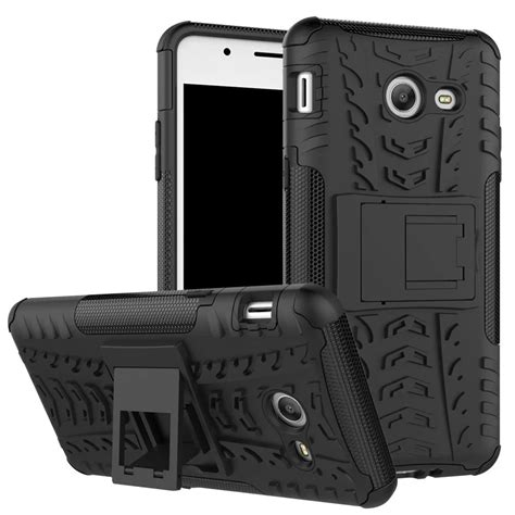 Cover Samsung Galaxy J2 Hybrid Armor Defender With Kick Stand aliexpress buy tire tough hybrid duty armor for samsung galaxy j1 mini j2 ace j3 j5