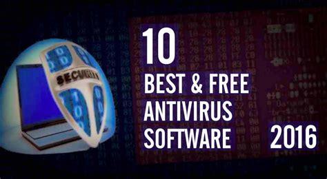 best 10 antivirus top 10 best free antivirus software of 2016 fossbytes
