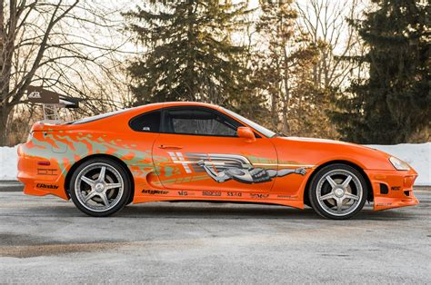 toyota supra side view 1993 toyota supra from quot the fast and the furious quot heads to