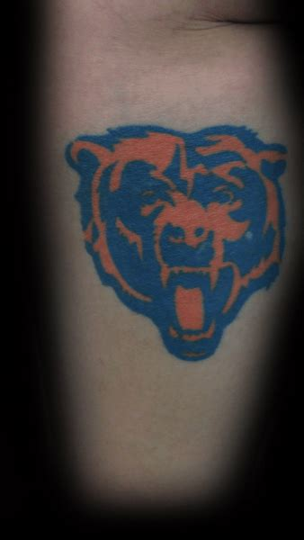 nfl tattoo designs 50 chicago bears tattoos for nfl football ink ideas