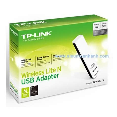 Usb Wifi Tplink Wn727n usb thu s 243 ng wifi tp link tl wn727n