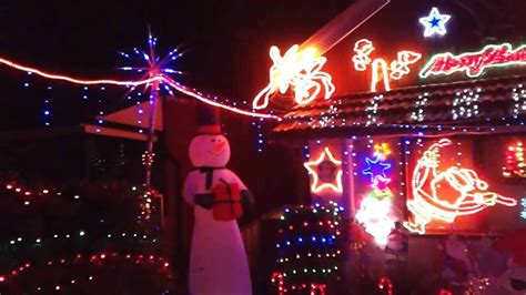 2013 best christmas lights p1 voted 1st in sydney