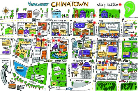 map san francisco vancouver vancouver chinatown is a bustling place and i much