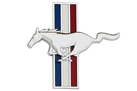 1994 2004 mustang pony emblems