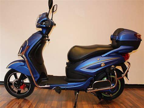 elektro scooter power blau mit strassenzulassung