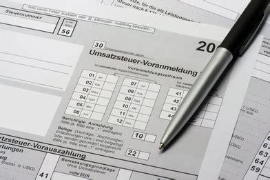 Vorlage Antrag Ist Versteuerung Versp 228 Tete Voranmeldung Der Umsatzsteuer Strafen Drohen Dhz Net