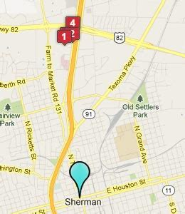 map of sherman texas sherman texas hotels motels see all discounts