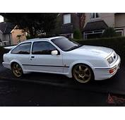 1987 FORD SIERRA RS COSWORTH WHITE 60500 MILES FSH LOVELY