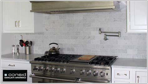 Carrara Marble Subway Tile Kitchen Backsplash 3x6 Carrara Marble Subway Tile Tiles Home Decorating Ideas Lralkqj28j