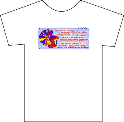 Tshirt Kaos Keep Clean fact about betta fish on your t shirt merchandise