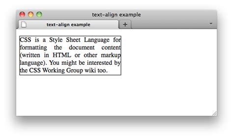 printable version css css properties text align web education community group