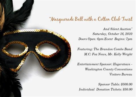 masquerade party invitations template best template