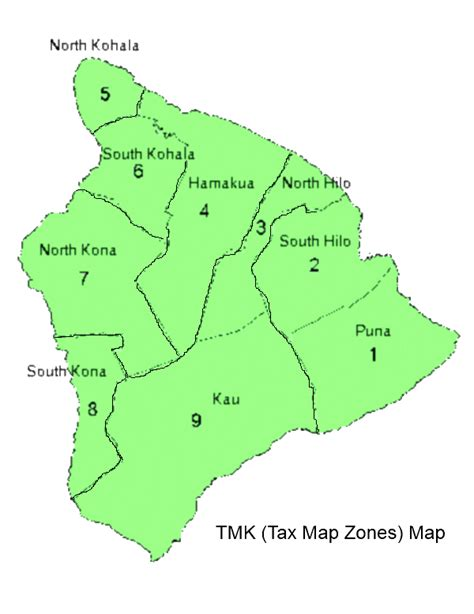 Hawaii County Real Property Tax Records View The Big Island S Tax Map Key Tmk Map