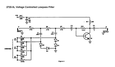 voltage controlled resistor transistor voltage filter schematic get free image about wiring diagram