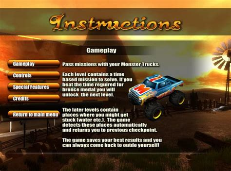 monster trucks nitro miniclip monster trucks nitro free pc download
