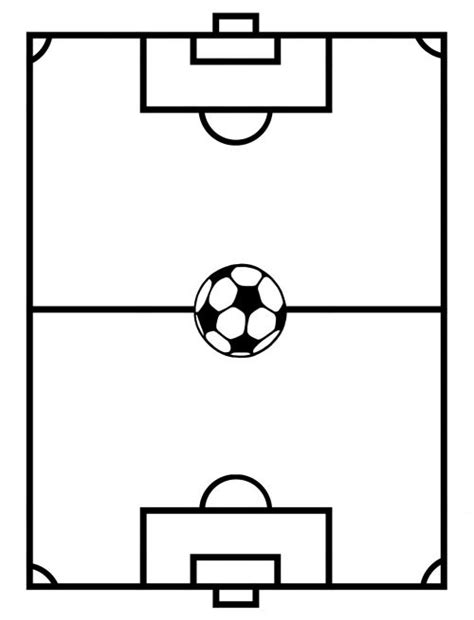 soccer field template pin by press magazine on soccer