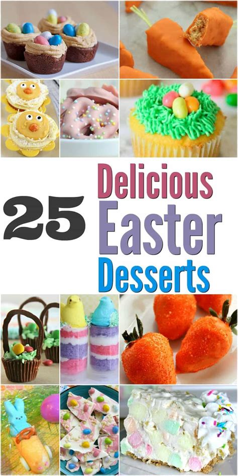 25 delicious easter dessert recipes easter