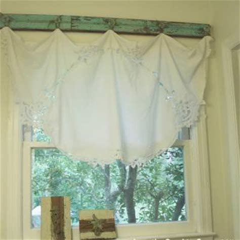 curtains diy window treatments vintage valance diy curtains tip junkie