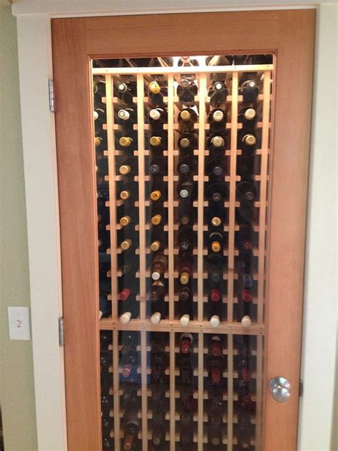 wine closet home small for a wine cellar here s an idea for a