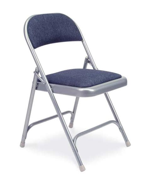 folding chairs padded seat and back virco padded seat and back folding chair silver mist