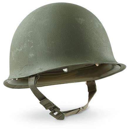 Uk M surplus m51 helmet with liner used