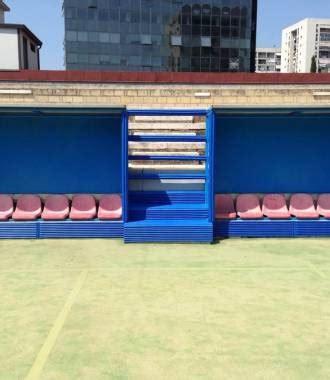 panchine per ci da calcio protezioni per impianti sportivi e palestre codex srl