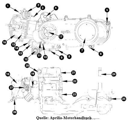Termostat Thermostat Vario 125 Copotan Motor motor