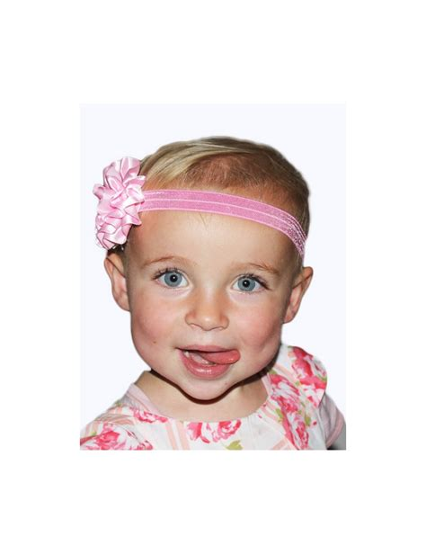 baby headbands baby headband uk superb shiny stretch headband with satin flower from babyboo