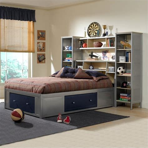 universal youth wall storage bedroom collection kids hillsdale universal youth bookcase storage platform wall