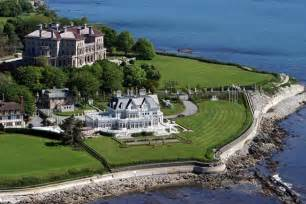 Of Newport Cliff Walk And Newport Mansions In Rhode Island