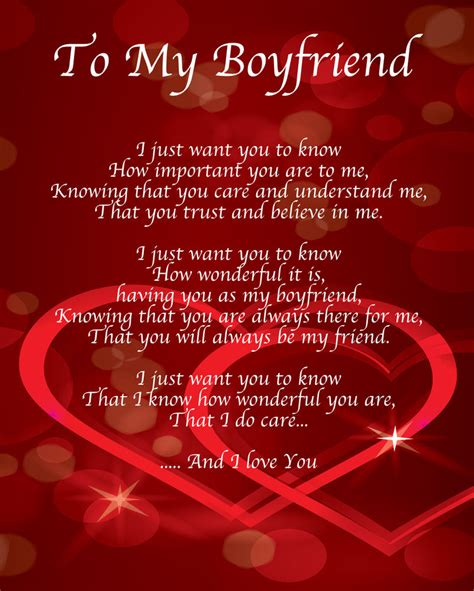happy valentines day gifts happy valentines day poems for boyfriend gifts this