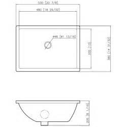 Bathroom sink dimensions sink illustration