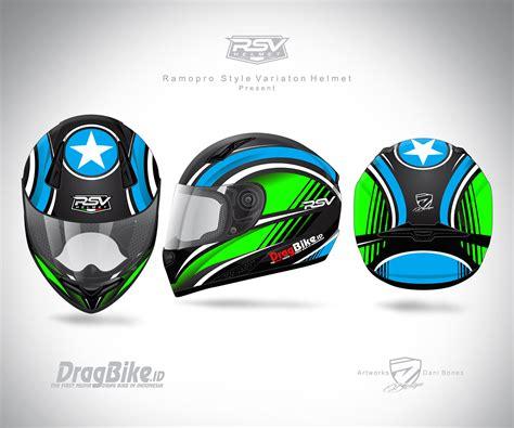 Helm Drag Bike helm khusus drag bike dari rsv akan segera hadir dragbike id