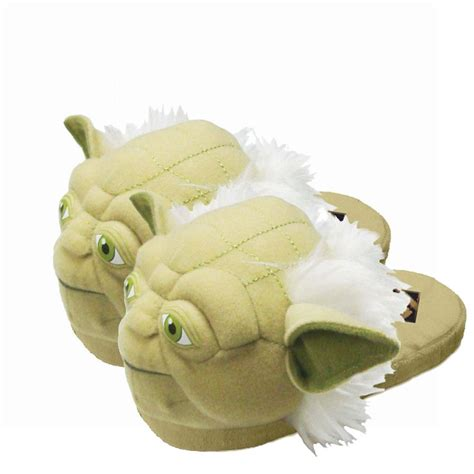 yoda slippers for wars yoda mens slippers large slippers from bioworld